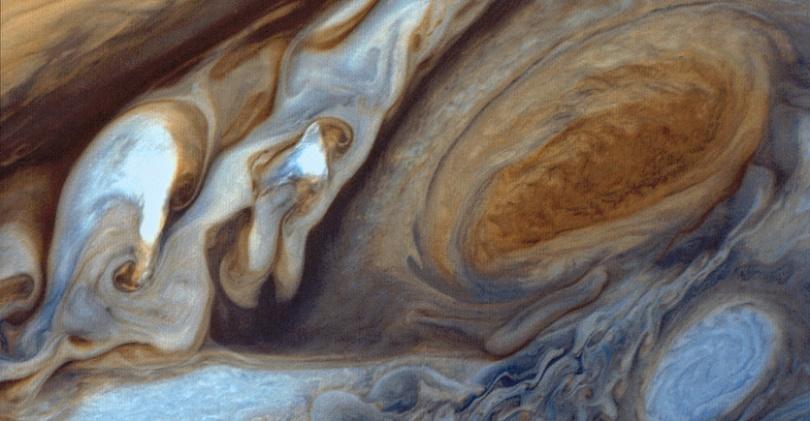 Jüpiter'in meşhur lekesi.