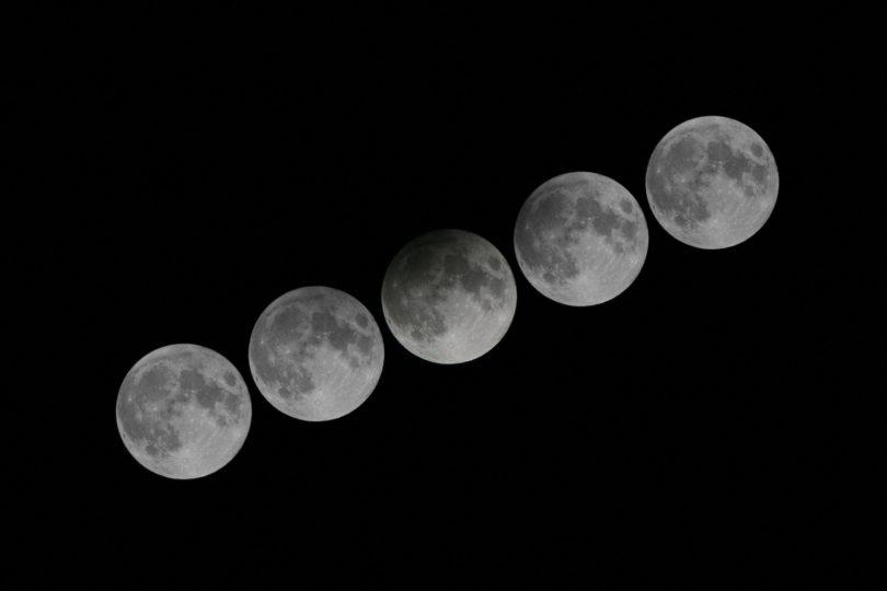 Yarı Gölgeli Ay Tutulması